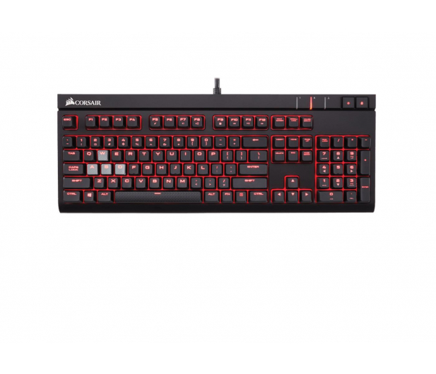 Corsair STRAFE (Cherry MX Red, Red LED) - 321220 - zdjęcie 1