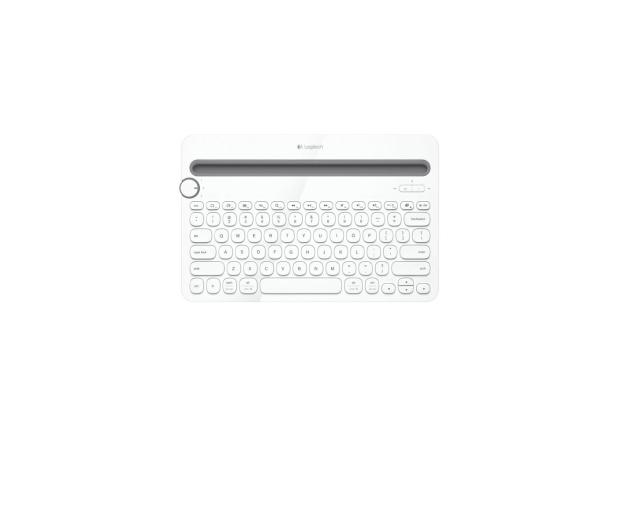 Logitech K480 biała - 250343 - zdjęcie