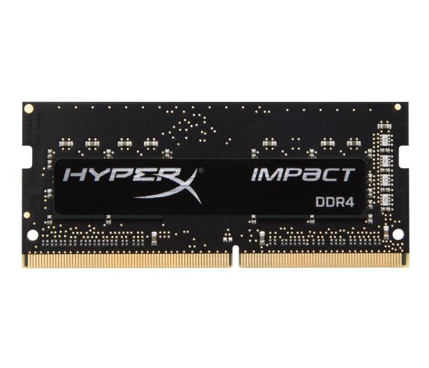 HyperX 8GB 2400MHz Impact Black CL14 1.2V  - 369760 - zdjęcie