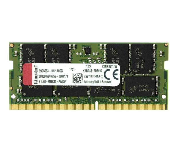 Kingston 16GB (1x16GB) 2400MHz CL17  - 369773 - zdjęcie