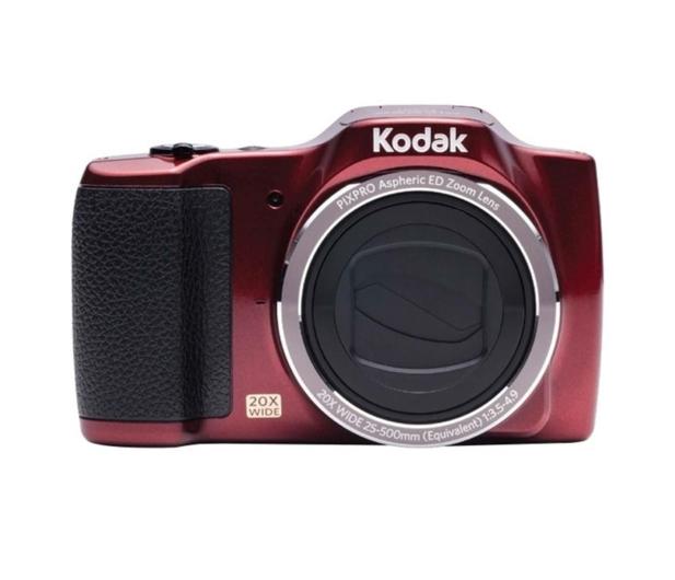 Kodak FZ201 czerwony - 375724 - zdjęcie