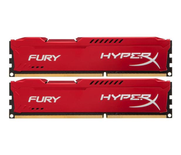 HyperX 16GB 1600MHz Fury Red CL10 (2x8GB) - 180507 - zdjęcie