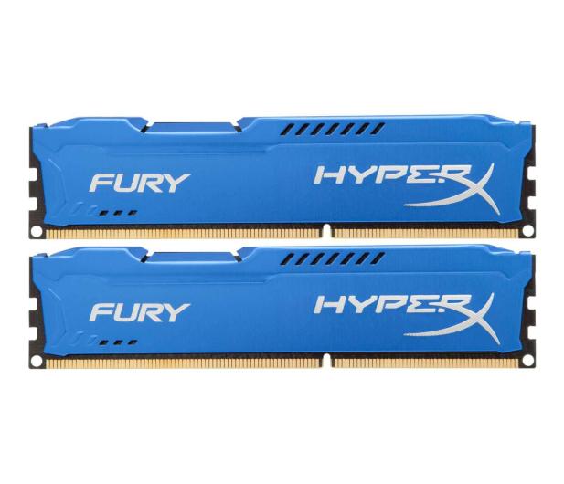 HyperX 8GB 1600MHz Fury Blue CL10 (2x4GB) - 180500 - zdjęcie