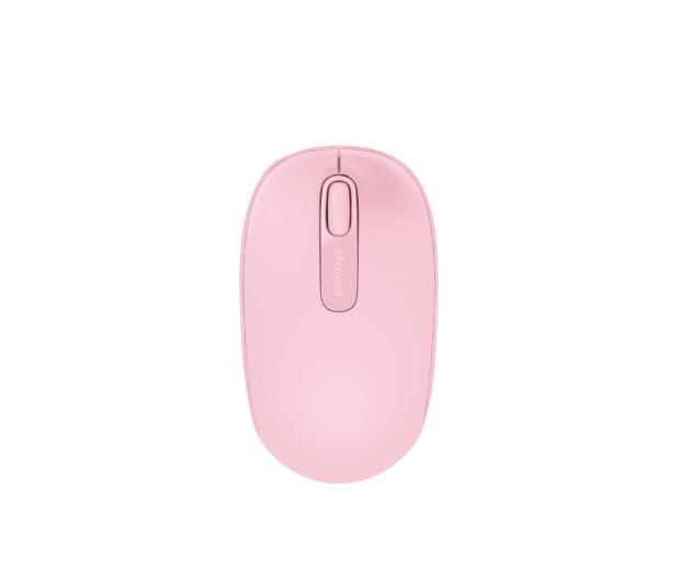 Microsoft 1850 Wireless Mobile Mouse (różowa) - 185693 - zdjęcie