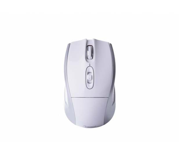 SHIRU Wireless Silent Mouse (Biała) - 326903 - zdjęcie