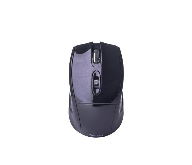SHIRU Wireless Silent Mouse (Czarna) - 326904 - zdjęcie
