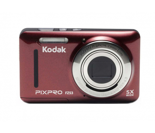 Kodak FZ53 czerwony - 375709 - zdjęcie