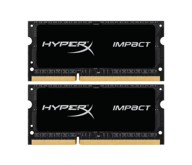 HyperX 16GB 1600MHz Impact Black CL9 1.35V (2x8GB) - 335752 - zdjęcie