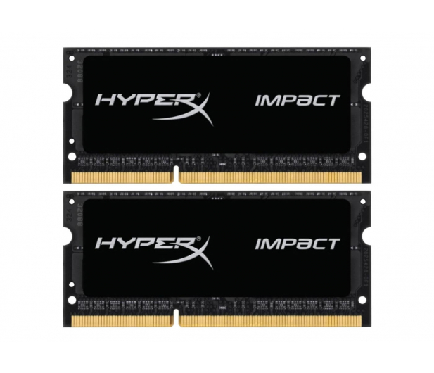 HyperX 16GB 1866MHz Impact Black CL11 1.35V (2x8GB) - 335750 - zdjęcie