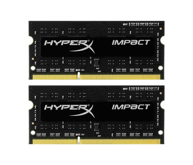 HyperX 8GB 1600MHz Impact Black CL9 1.35V (2x4GB) - 335758 - zdjęcie