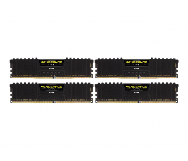 Corsair 32GB 3000MHz Vengeance LPX Black CL15 (4x8GB) - 441874 - zdjęcie