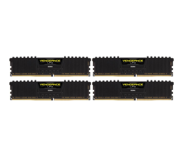 Corsair 64GB 3000MHz Vengeance LPX Black CL15 (4x16GB) - 350207 - zdjęcie