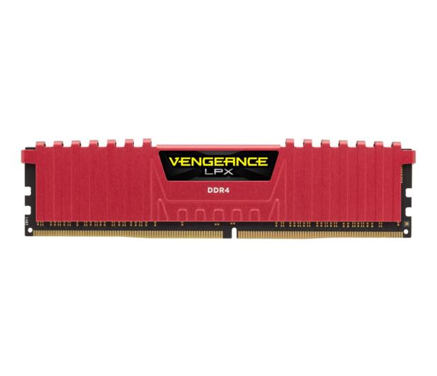 Corsair 8GB (1x8GB) 2400MHz CL14 Vengeance LPX Red - 257989 - zdjęcie