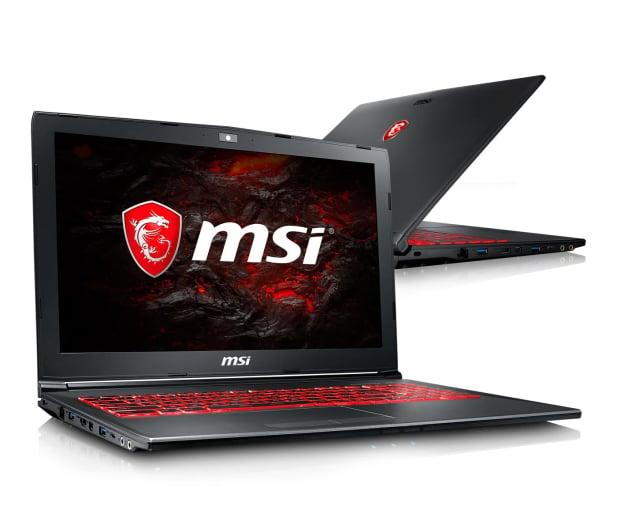 MSI GV62 i5-8300H/8GB/1TB+240 GTX1050Ti  - 436256 - zdjęcie