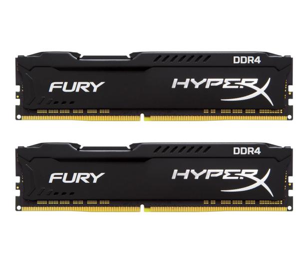 HyperX 16GB 2400MHz Fury Black CL15 (2x8GB) - 254686 - zdjęcie