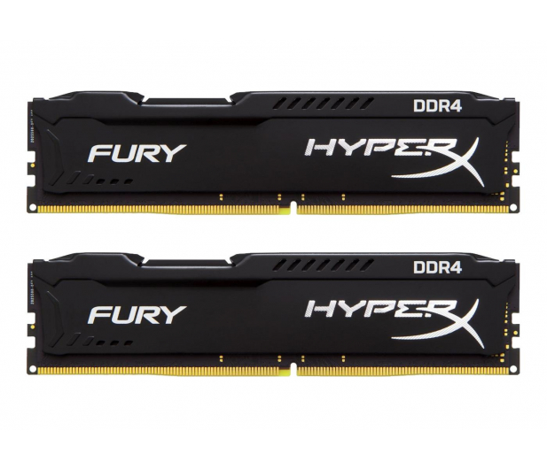 HyperX 16GB (2x8GB) 2666MHz CL16  Fury Black - 359718 - zdjęcie