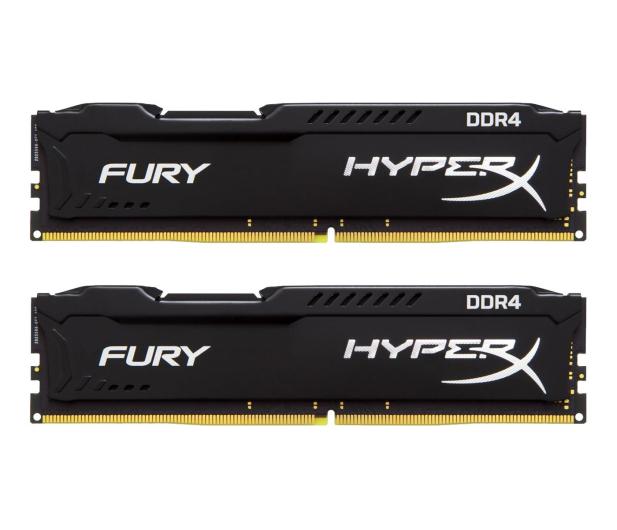 HyperX 8GB 2400MHz Fury Black CL15 (2x4GB) - 254676 - zdjęcie