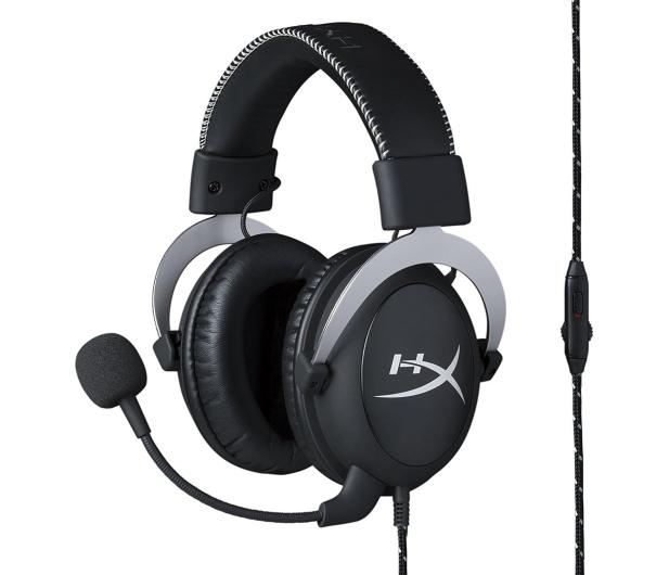 HyperX Cloud Silver Headset (srebrne)  - 376129 - zdjęcie 6