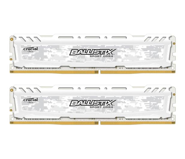 Crucial 16GB 2400MHz Ballistix Sport LT White CL16 (2x8GB) - 327967 - zdjęcie