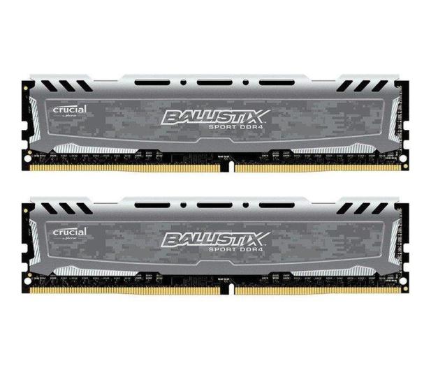 Crucial 32GB 2400MHz Ballistix Sport LT Gray CL16 (2x16GB) - 340035 - zdjęcie