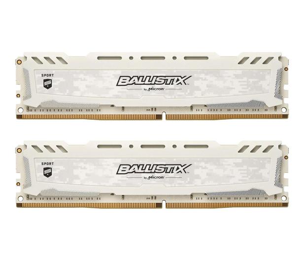 Crucial 32GB 2400MHz Ballistix Sport LT White CL16 (2x16) - 340034 - zdjęcie