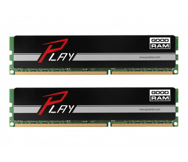 GOODRAM 16GB 2400MHz Play CL15 (2x8GB) Black - 363163 - zdjęcie