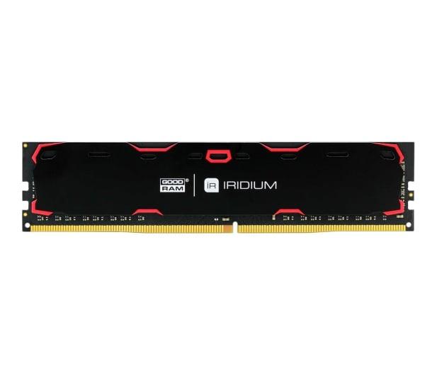 GOODRAM 8GB 2400MHz IRIDIUM Black CL15 - 361607 - zdjęcie