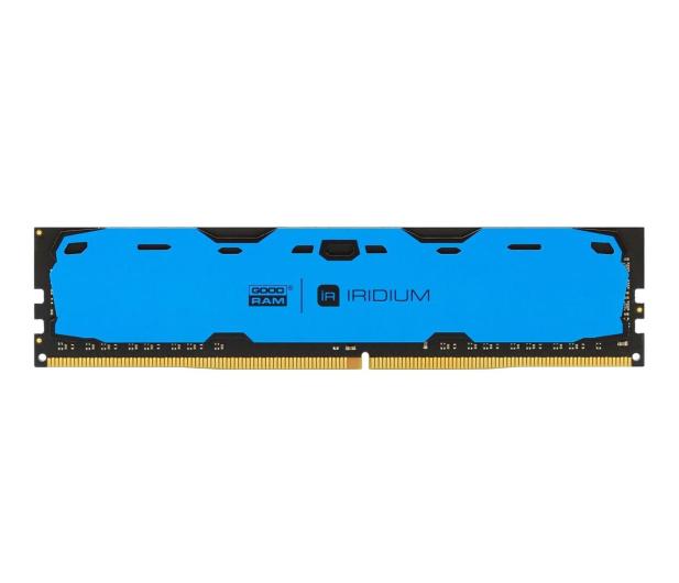 GOODRAM 8GB 2400MHz IRIDIUM Blue CL15 - 361611 - zdjęcie