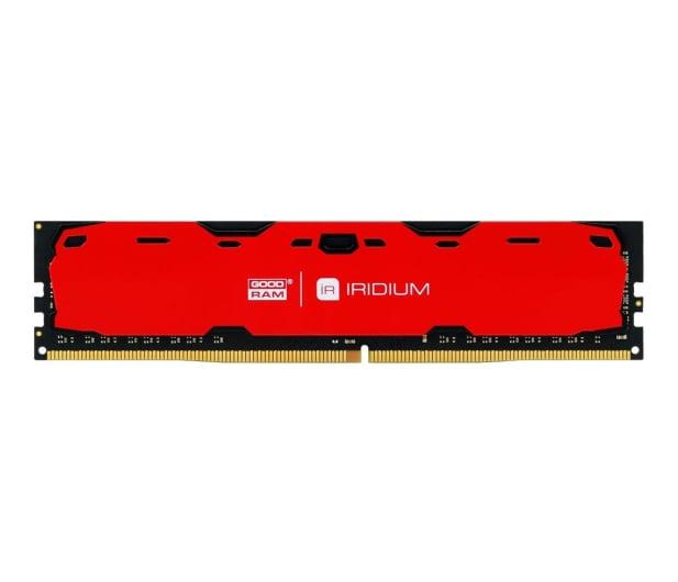 GOODRAM 4GB 2400MHz IRIDIUM Red CL15 - 361592 - zdjęcie