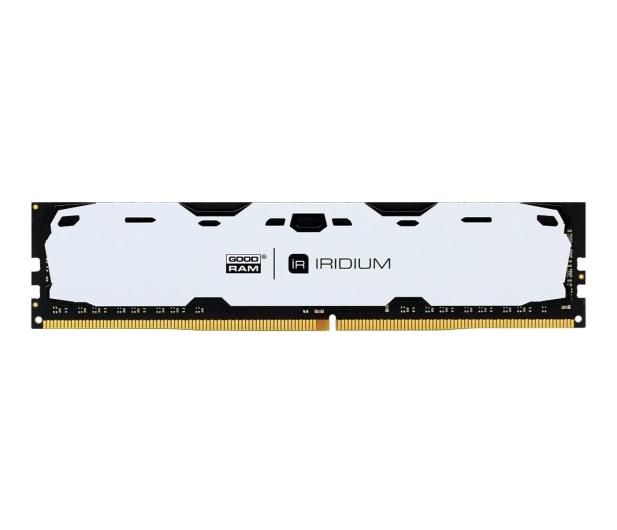 GOODRAM 8GB 2400MHz IRIDIUM White CL15 (2x4GB) - 361606 - zdjęcie 1