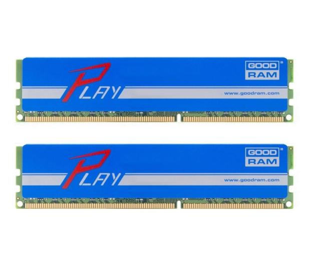 GOODRAM 8GB 2400MHz Play CL15 (2x4GB) Blue - 363161 - zdjęcie