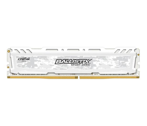 Crucial 8GB 2400MHz Ballistix Sport LT White CL16 - 339374 - zdjęcie