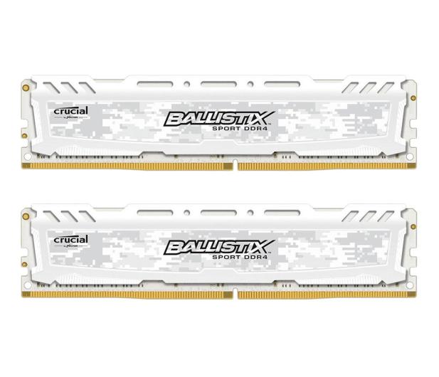 Crucial 16GB 2666MHz Ballistix Sport LT White CL16 (2x8GB) - 351117 - zdjęcie