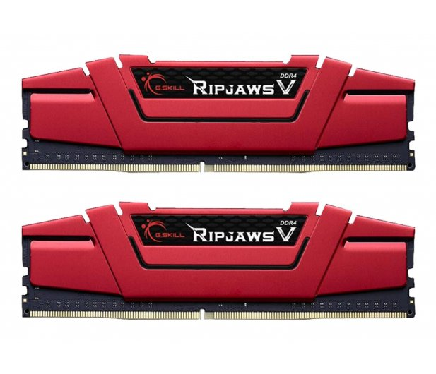 G.SKILL 16GB 3200MHz Ripjaws V CL15 Red (2x8GB) - 427810 - zdjęcie