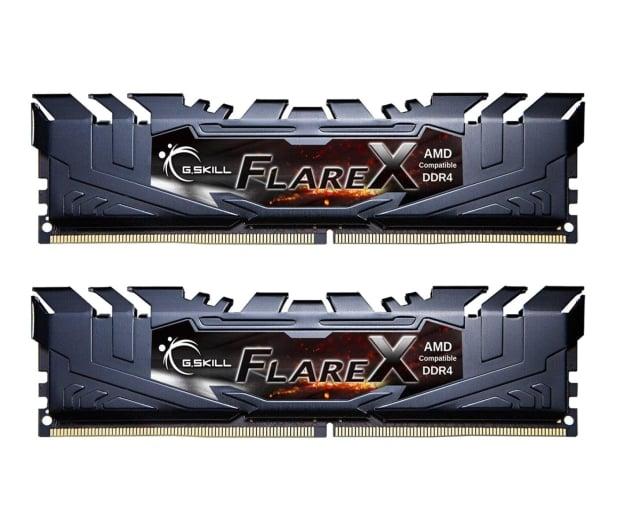 G.SKILL 16GB (2x8GB) 3200MHz CL14  Flare X Black Ryzen  - 368086 - zdjęcie