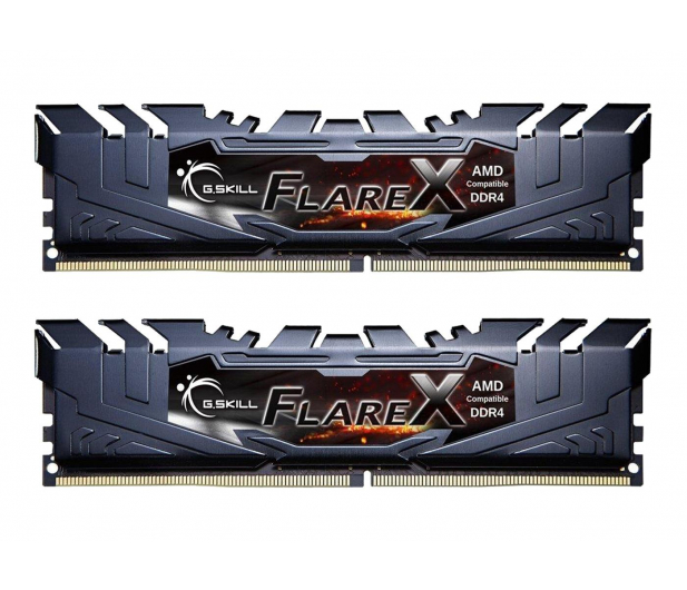 G.SKILL 32GB 2400MHz FlareX Black Ryzen CL15 (2x16GB) - 367953 - zdjęcie
