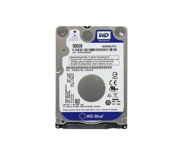 WD 500GB 5400obr. 16MB Blue - 254261 - zdjęcie