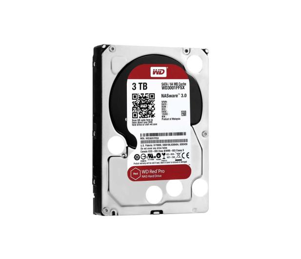 WD 3TB 7200obr. 64MB RED PRO - 204013 - zdjęcie 2