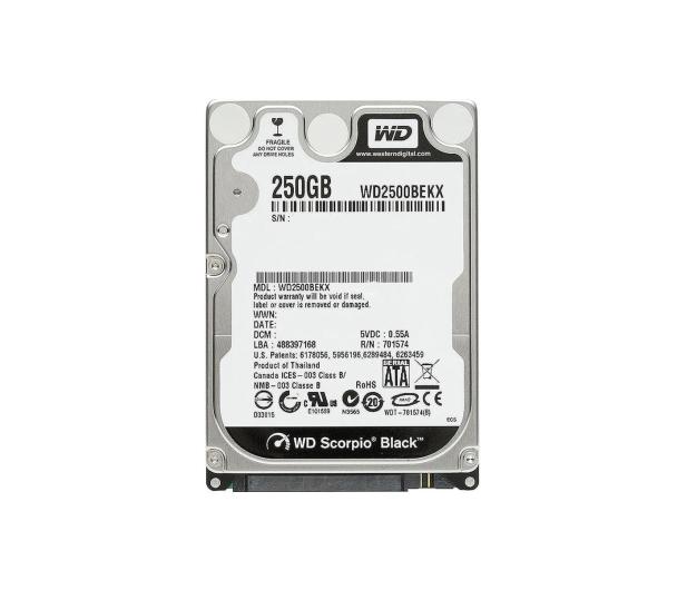 WD 250GB 7200obr. 16MB - 152381 - zdjęcie