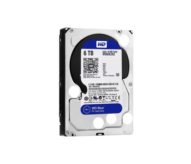 WD 6TB 5400obr. 64MB BLUE - 254258 - zdjęcie 2