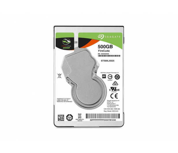 Seagate FIRECUDA 500GB 5400obr. 128MB  - 339127 - zdjęcie