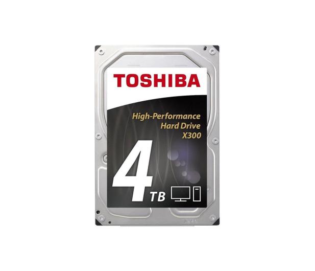 Toshiba 4TB 7200obr. 128MB X300 OEM - 341408 - zdjęcie