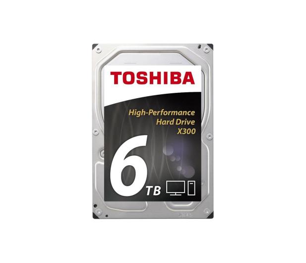 Toshiba 6TB 7200obr. 128MB X300 - 294056 - zdjęcie