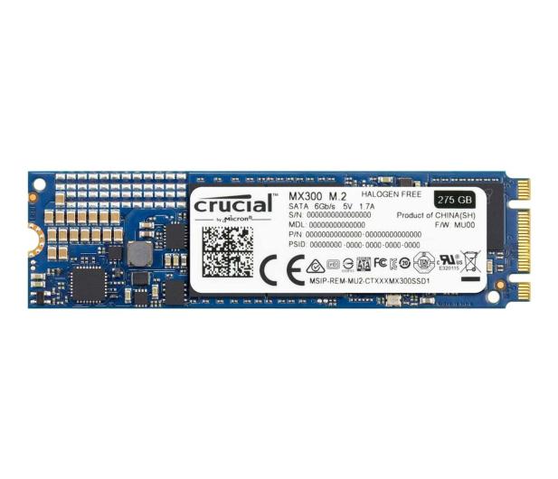 Crucial 275GB SATA SSD MX300 M.2 2280 - 316772 - zdjęcie