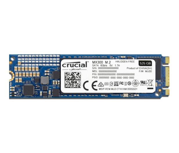 Crucial 525GB SATA SSD MX300 M.2 2280 - 336484 - zdjęcie