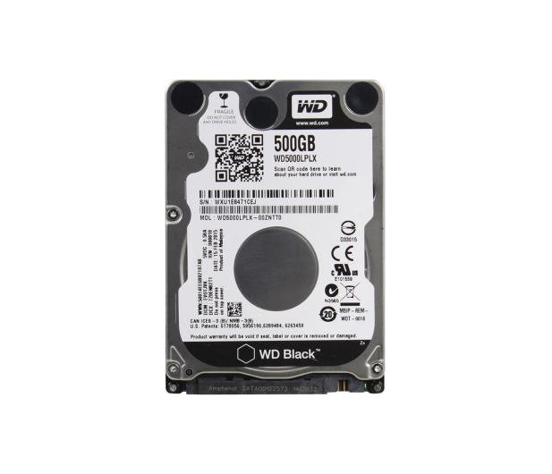 WD 500GB 7200obr. 32MB BLACK - 220271 - zdjęcie