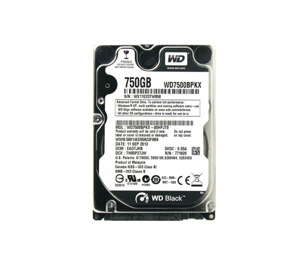 WD 750GB 7200obr. 16MB - 152384 - zdjęcie
