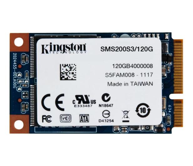Kingston 120GB 1,8'' mSATA SSD SMS200S3 - 149173 - zdjęcie