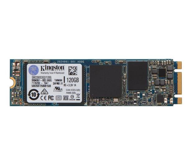 Kingston 120GB M.2 2280 SSD G2 - 286589 - zdjęcie
