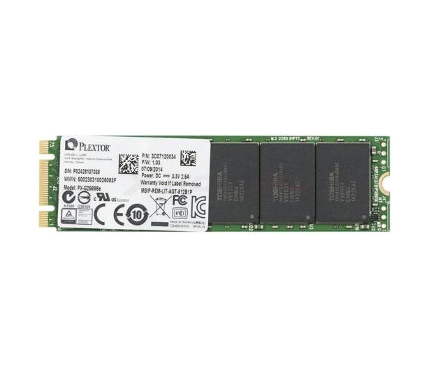 Plextor 256GB 2,5'' PCIexpress M6E M.2 Edition - 236605 - zdjęcie
